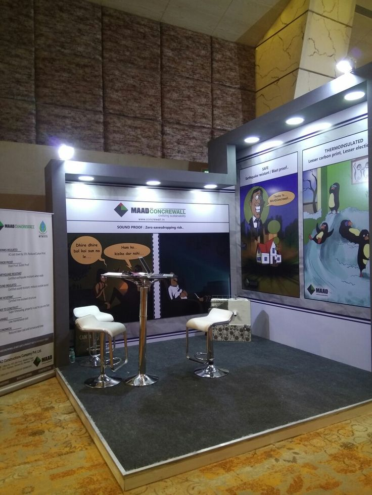 MAADCONCREWALL stall at OneStop Hospitality event at Hotel Sahara Star, Mumbai.  MAADCONCREWALL is the technical arm of MAAD Constructions Company Pvt Ltd, a MAAD Group company.  MAADCONCREWALL is executing the prestigious Project Nandghar for Vedanta Resources Plc, which aims to provide hitech education to children and skill development to women in rural India.  MAAD Constructions Company pvt ltd, is a part of MAAD Group.