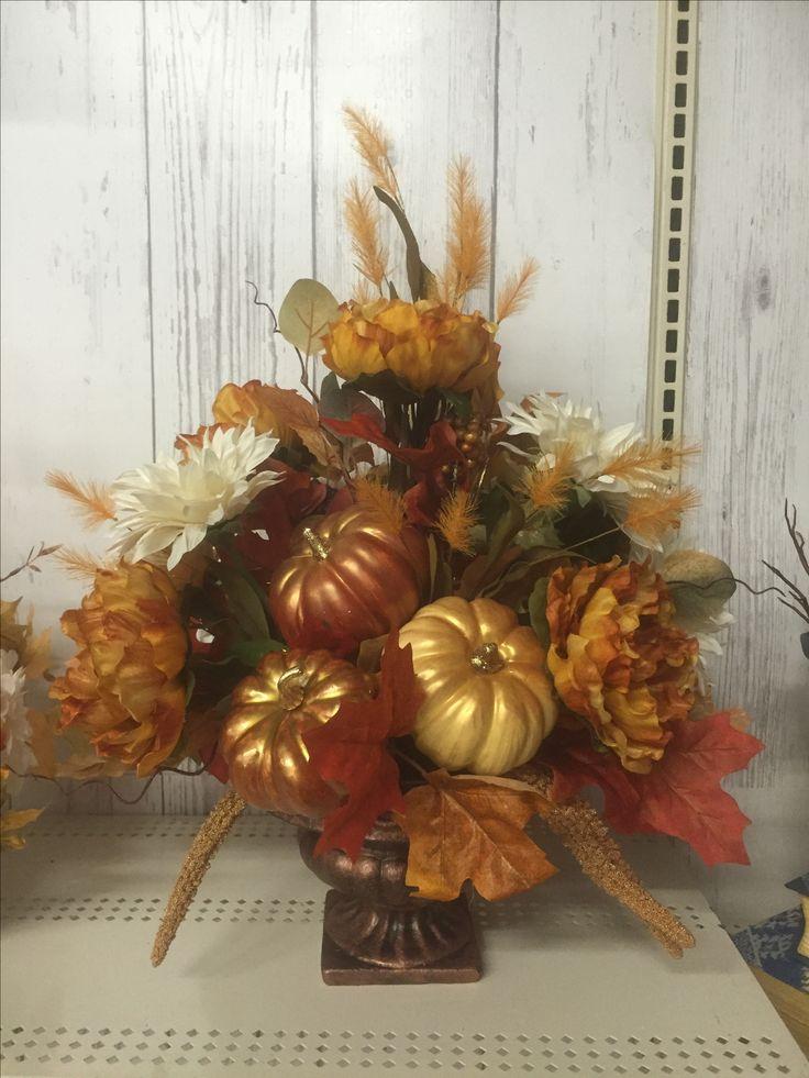 Fall centerpiece floral arrangements tara powers