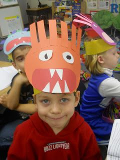 Mrs. T's First Grade Class: Monster Glyph Headbands