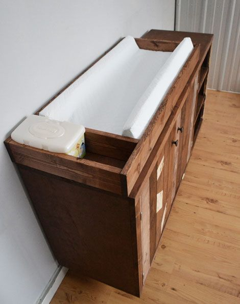 Build a Emerson Changing Table Topper   Free and Easy DIY Project and Furniture Plans