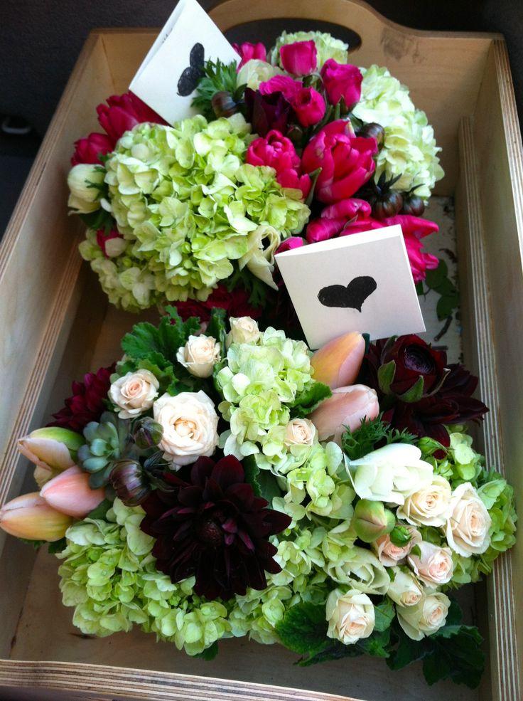 Valentine's Day flower deliveries.