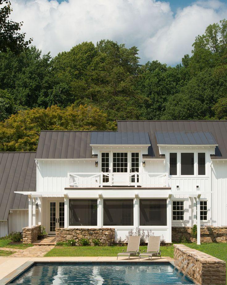 Donald Lococo Architects Americanfarmhouse Farmhouse Pool Exterior Backyard