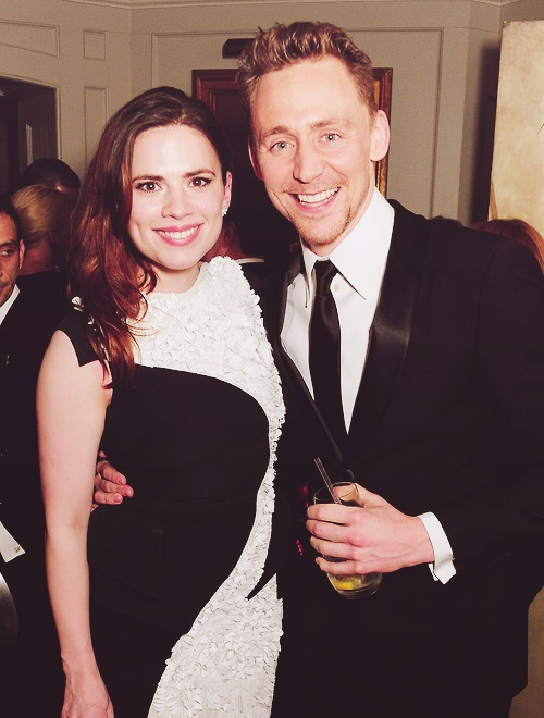 Tom Hiddleston and Hayley Atwell at 2013 Baftas