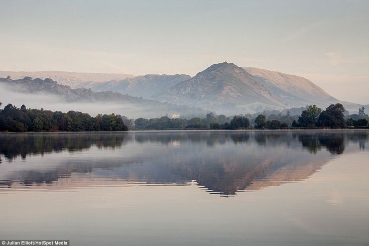Mr Elliott decided to pursue a career in photography because of his love for the outdoors (pictured: Grasmere in the Lake District, Cumbria)