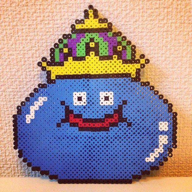King Slime - Dragon Quest perler beads by saiguri