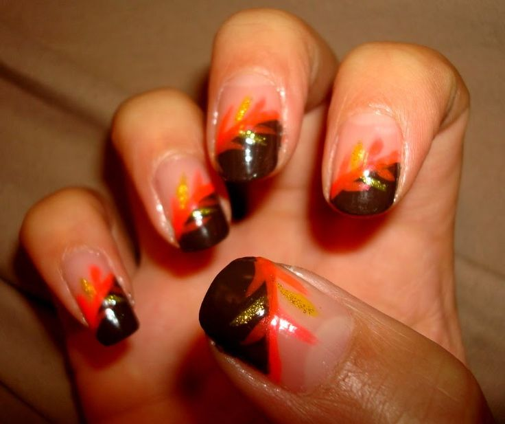 thanksgiving nails | Thanksgiving Nail Designs | how to nails designs | nails by design ...
