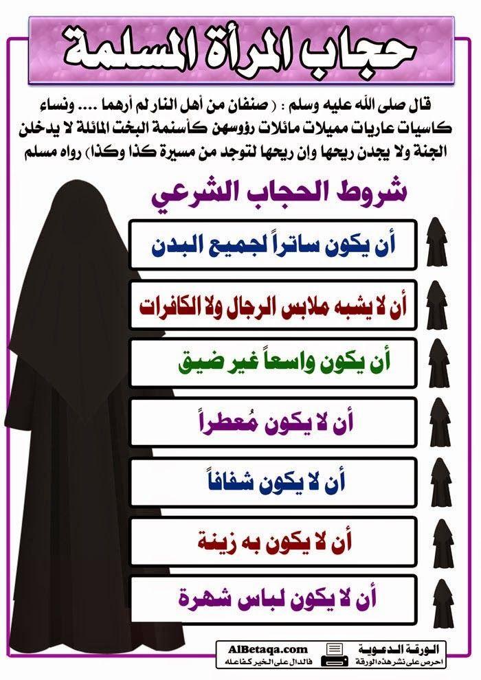بالصور جميع ماتحتاجه المرأة من أحكام شرعية في موضوع واحد صور Islamic Phrases Learn Islam Life Quotes
