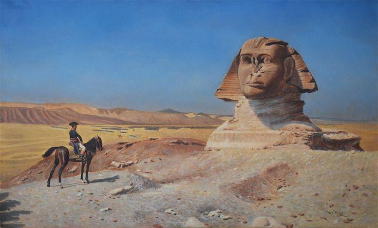 Il generale Bonaparte in Egitto, di Jean-Léon Gérôme - 1867-1868
