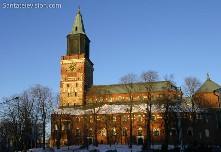 Catedral de Turku na Finlândia