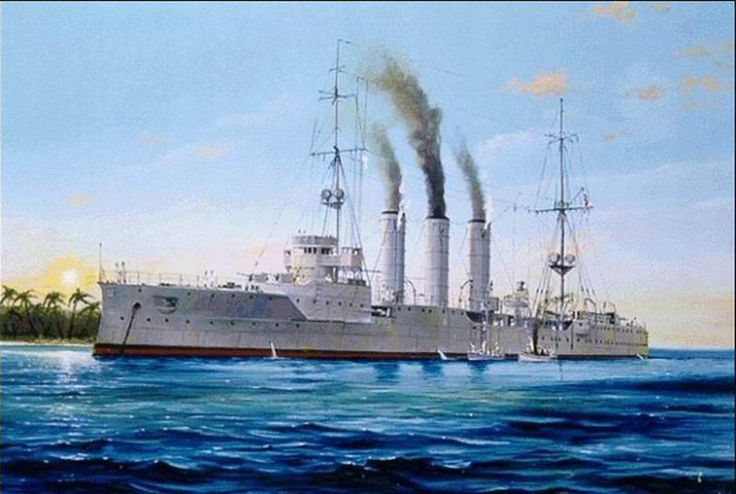 SMS Emden, launched 1908
