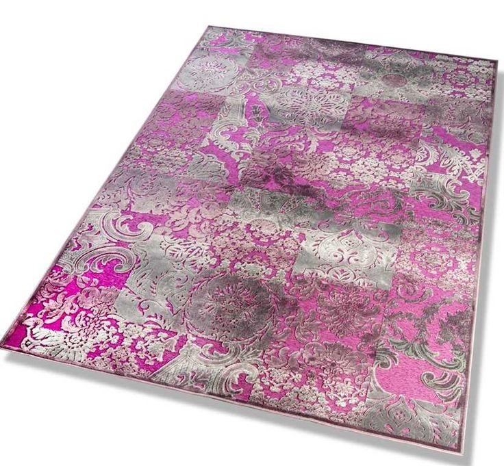 Dekowe - Nostalgie 8650/75 Pink Rugs | Modern Rugs