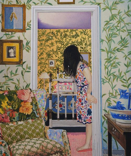 Contemporary artist Naomi Okubo, Japan. She reminds me of Hope Gangloff.