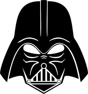 J. Ossorio Papercraft: Máscara recortable  de Dard Vader