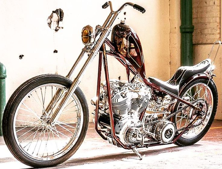 "Custom Harley-Davidson EL/FL ""Knucklehead"" chopper 