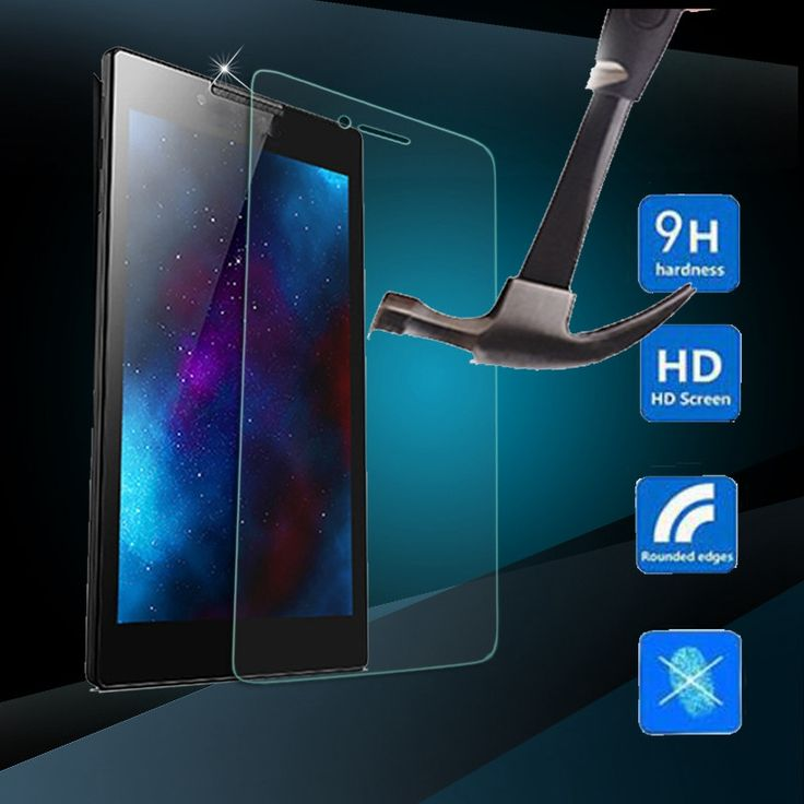 9H Tempered Glass Screen Protector Transparent Film For Lenovo Tab3 7 Essential 710F New Tablets Screen Protector Film 7 inch