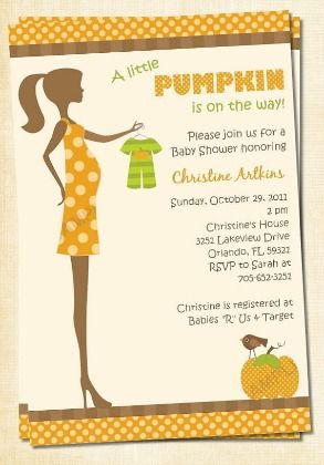 25 Perfect Fall Baby Shower Invitations