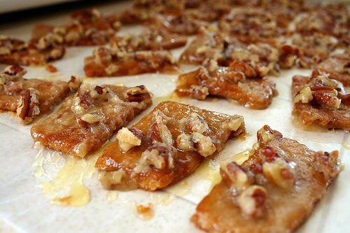 Caramel Graham Cracker.. I made a batch of Christmas cookies today.