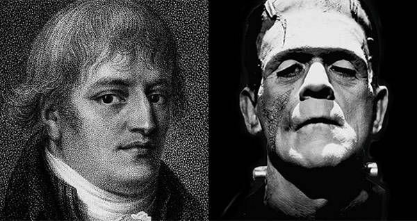 The disturbed Dr. Victor Frankenstein found his real-life roots in Dr. Giovanni Aldini.
