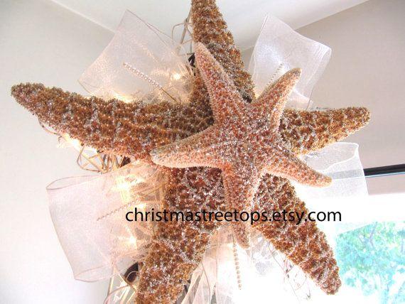 As 10 melhores ideias de Starfish tree topper no Pinterest ...