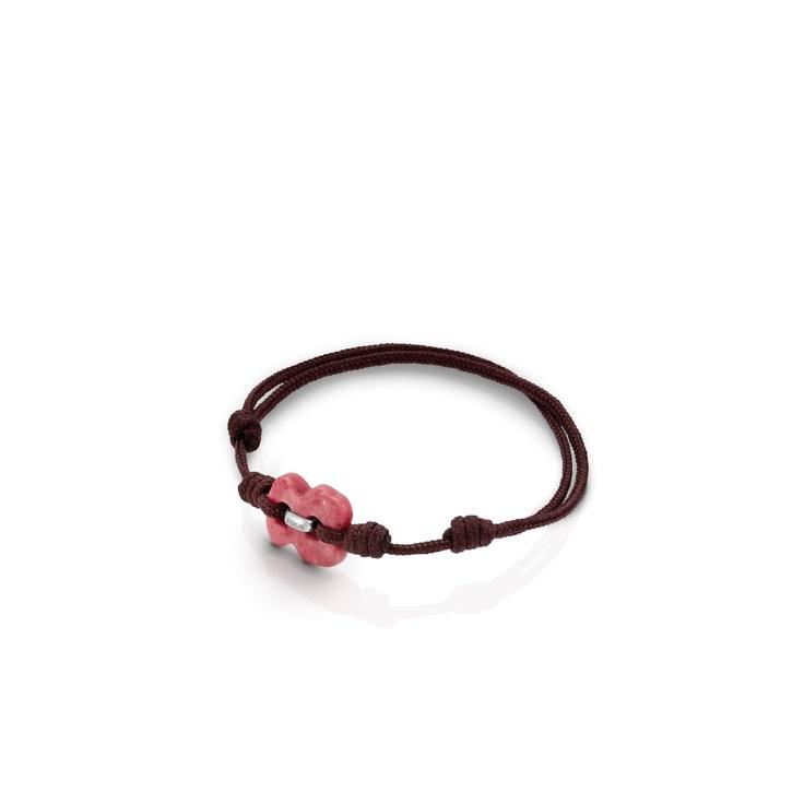 Sterling silver TOUS Cruise bracelet with rhodonite. 1,5cm. - 9/16  TOUS WASHINGTON DC