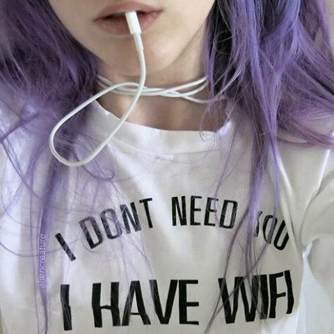 I need this t-shirt along with a nice wifi :wink: #ninjacosmico #grunge