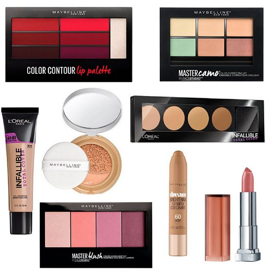 NEW Maybelline and LOreal 2017 Products Now Available Online!