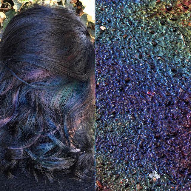 Taylor Rae @bunny_rae Oil slick hair #...Instagram photo   Websta (Webstagram)
