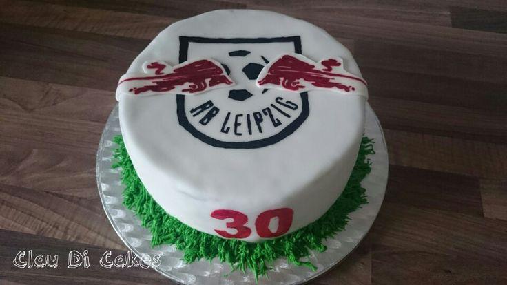 birthday cake soccer RB Leipzig