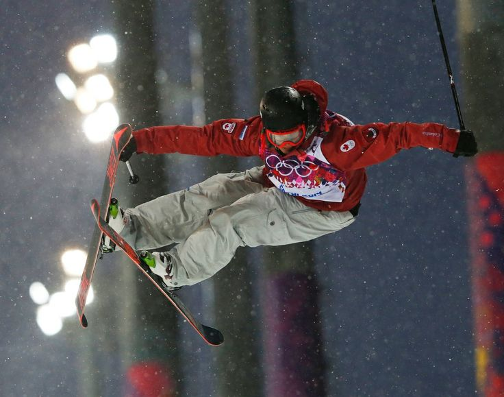 Photos: Canada at Sochi Games - Day 11 of Competition |  CTV News at Sochi 2014  ~~ Canada's Mike Riddle gets air during the men's ski half pipe qualifying at the Rosa Ehutor Extreme Park. Feb 18, 2014.