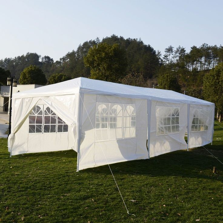 New Outdoor Canopy Party Wedding Tent Heavy Duty Gazebo Pavilion Cater  Events White 10