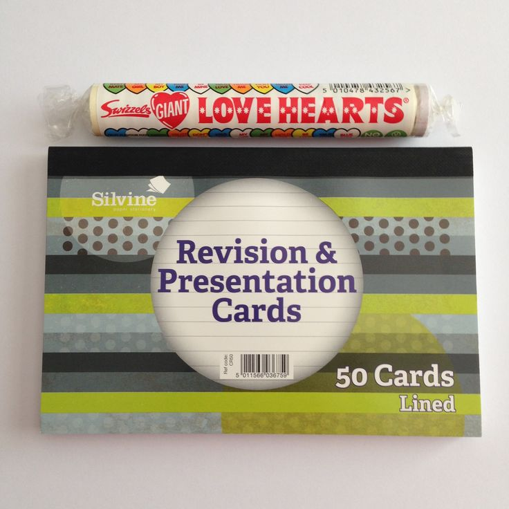 we love putting free extras in our parcels. This week it is a pack of Lovehearts & some revision cards. Who knows next week. Checkout our Facebook page or News section on our website for offers