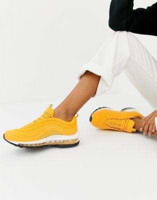 Nike Yellow Air Max 97 Sneakers