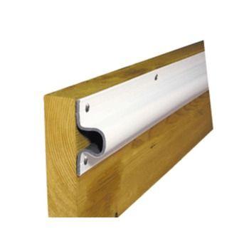 Dock Edge C Guard Economy PVC Profiles 10ft Roll - White