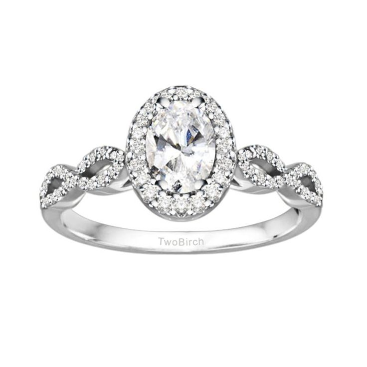 Amazing Diamond Promise Ring in Sterling Silver or Solid Gold Sizes to in Sizes