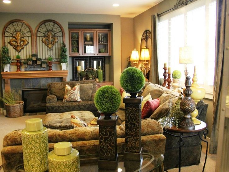 12 best The Principles of Tuscan Interior Style images on - tuscan style living room