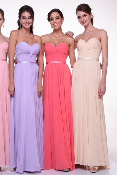 Beautiful and elegant evening dress features sweetheart neckline and twisted front bodice. A thin waist band with A-line silhouette for the modern look. If you
