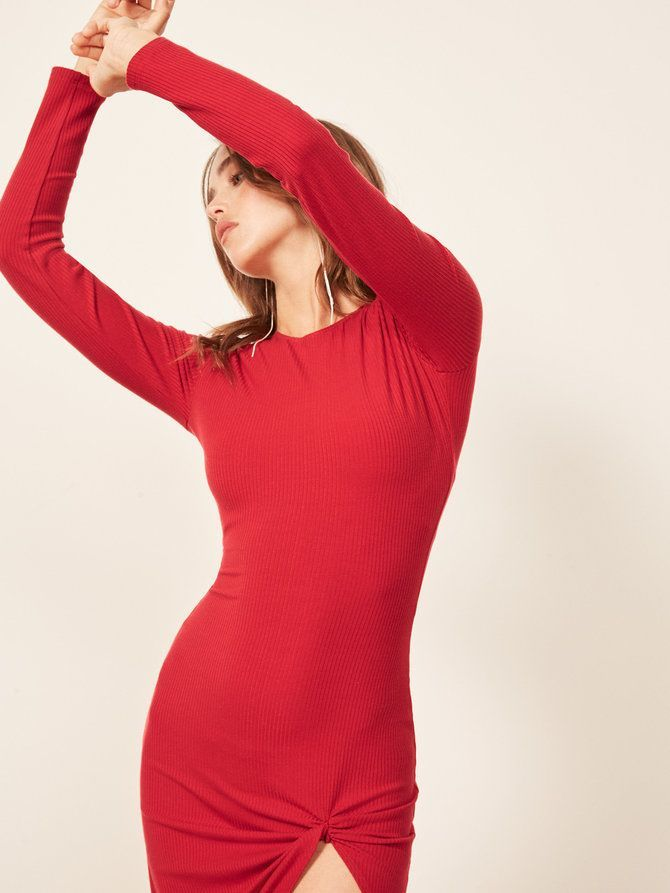 5cc0b24568 The Affordable Section You Shouldn t Ignore at Reformation. Reformation  Piazza Dress