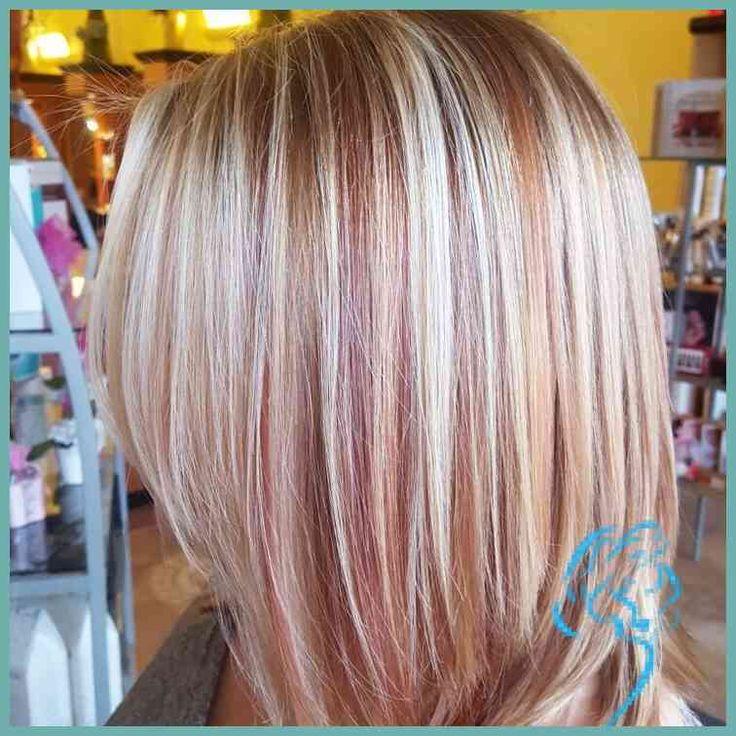 Bild ergebnis für rose gold lowlights | Haare und Make-up im Jahr 2018 … | Damen Frisu … – Neu Frisuren