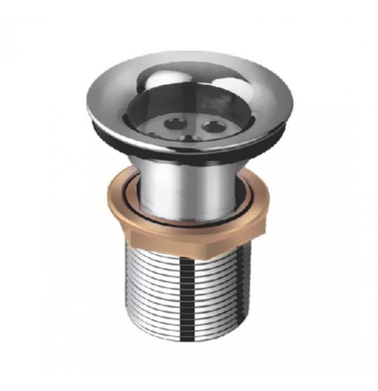 Hindware Waste Coupling 32 MM Economy Model (Half Thread) In Chrome (F850023)