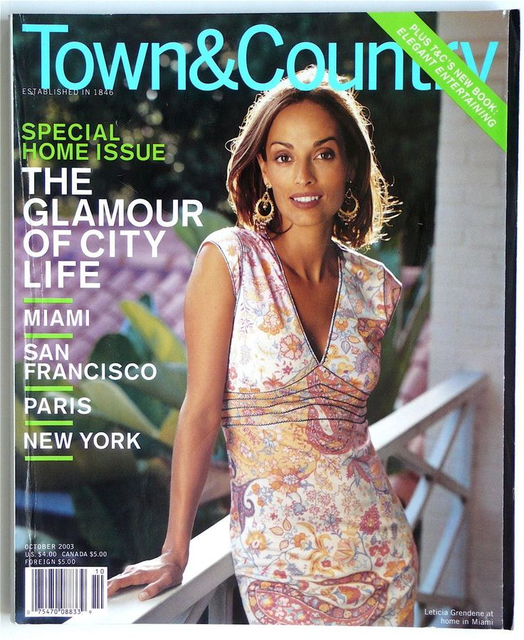 Town & Country October 2003
