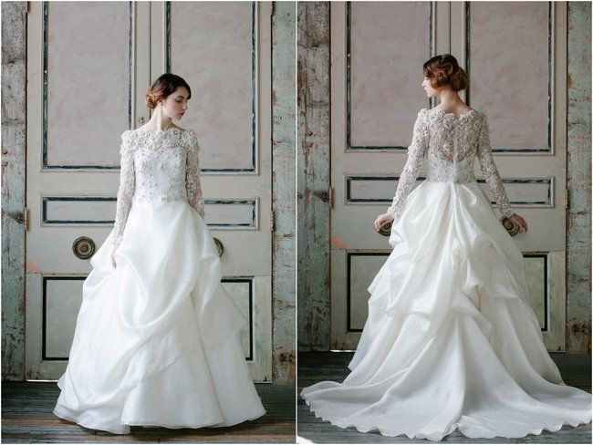 25+ Cute Sleeved Wedding Gowns Ideas On Pinterest
