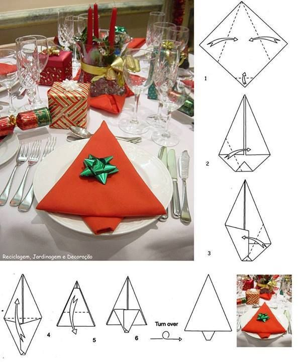1000 images about pliage de serviette de table on pinterest napkin folding - Pliage serviettes de table ...
