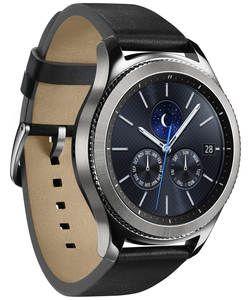 Samsung Gear S3 Classic Smart Watch.: Timeless outside. Revolutionary inside. The Samsung Gear S3 smart watch seamlessly blends a premium…