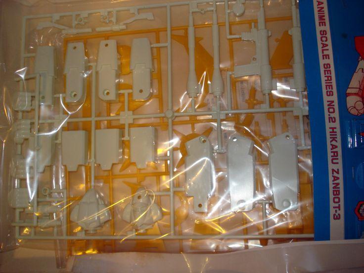 Zambot 3 Aoshima 1/240 Plastic kit Vintage