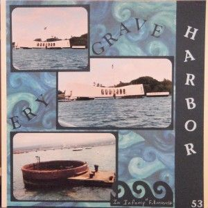 When my husband and I saw Hawaii the first time, one of the best tours we took was the one of Pearl Harbor. Part of that tour was a short shuttle boat ride ou