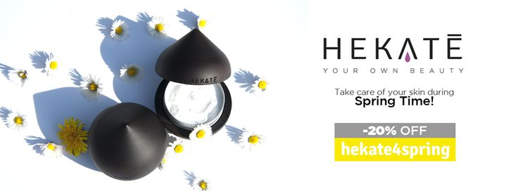 #welcome #spring!  #celebrate with Hekatè and you get 20% off on your #first #tailored #facecream with the #code 'hekate4spring' until March, 31st.  #springtime #springfashion #enjoy #lovespring #tailormade #personalization #youchoose #unique #exclusive #beauty #beautycare #skincare #moisturizer #cosmetics #musthave #offer #specialoffer