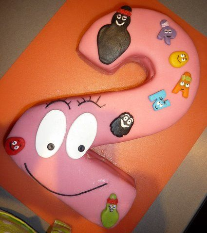 Possibly the cake for my girl's second birthday.