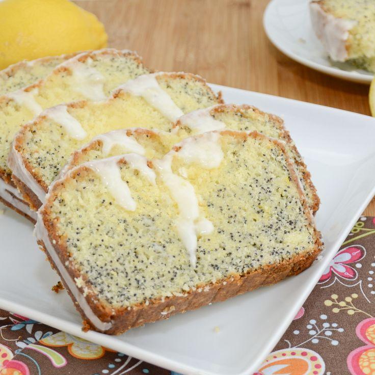 Lemon Poppy Seed Dump Cake