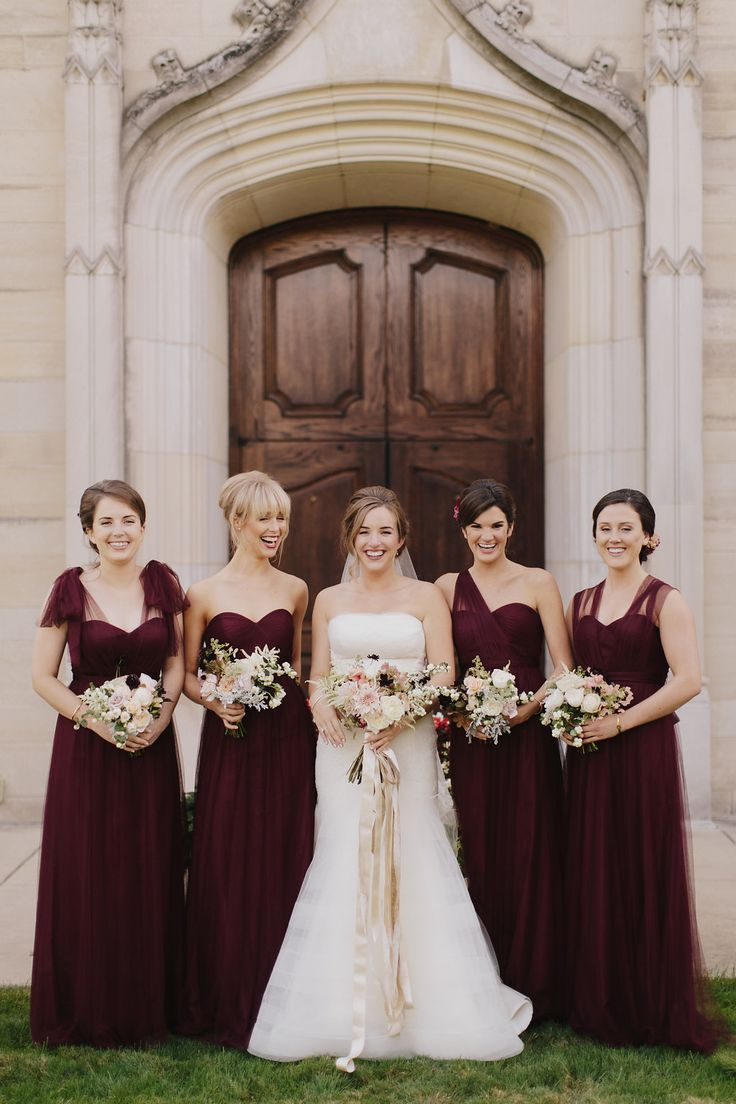 97 best autumn wedding images on pinterest marriage bridesmaids convertible annabelle dress by jenny yoo in cabernet tulle ombrellifo Images