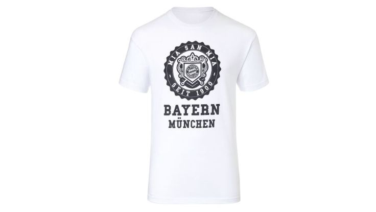 For Bayern München Fans! 15% discount on already discounted Tshirts - only until today!